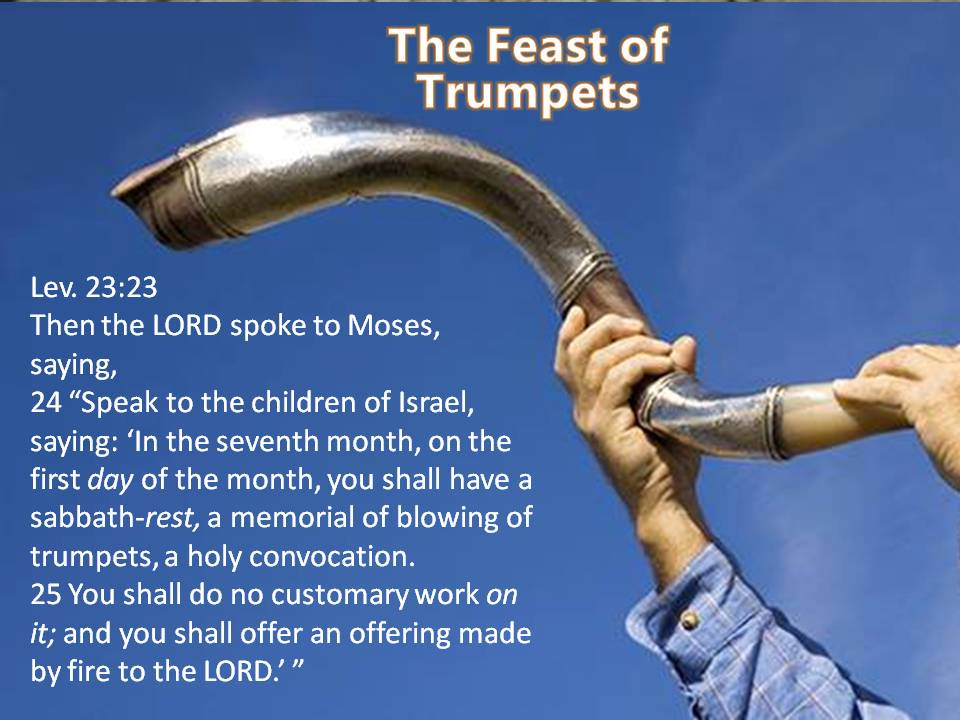 The Feast of Trumpets, The Wedding and the Coming of Messiah
