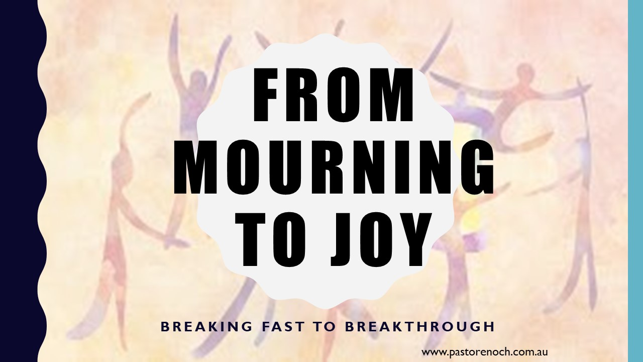 Yom Kippur to Tabernacles - from fasting to breakthrough